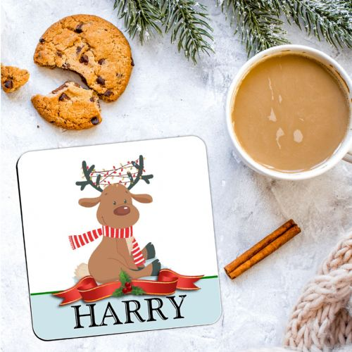 Personalised Christmas Coaster N22  - ANY NAME